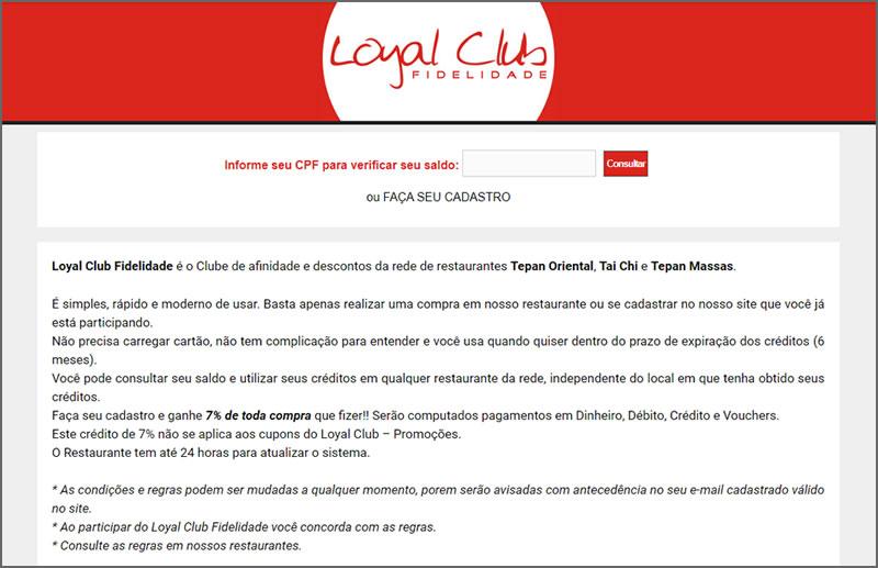 Loyal Club - Fidelidade